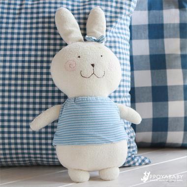 오가닉 폭신토끼 토리 인형 만들기 DIY